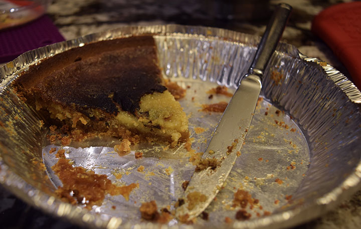 Momofuku Crack Pie with Graham Cracker Crust