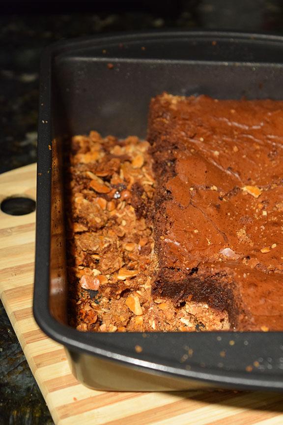 Nutella Brownie Bars