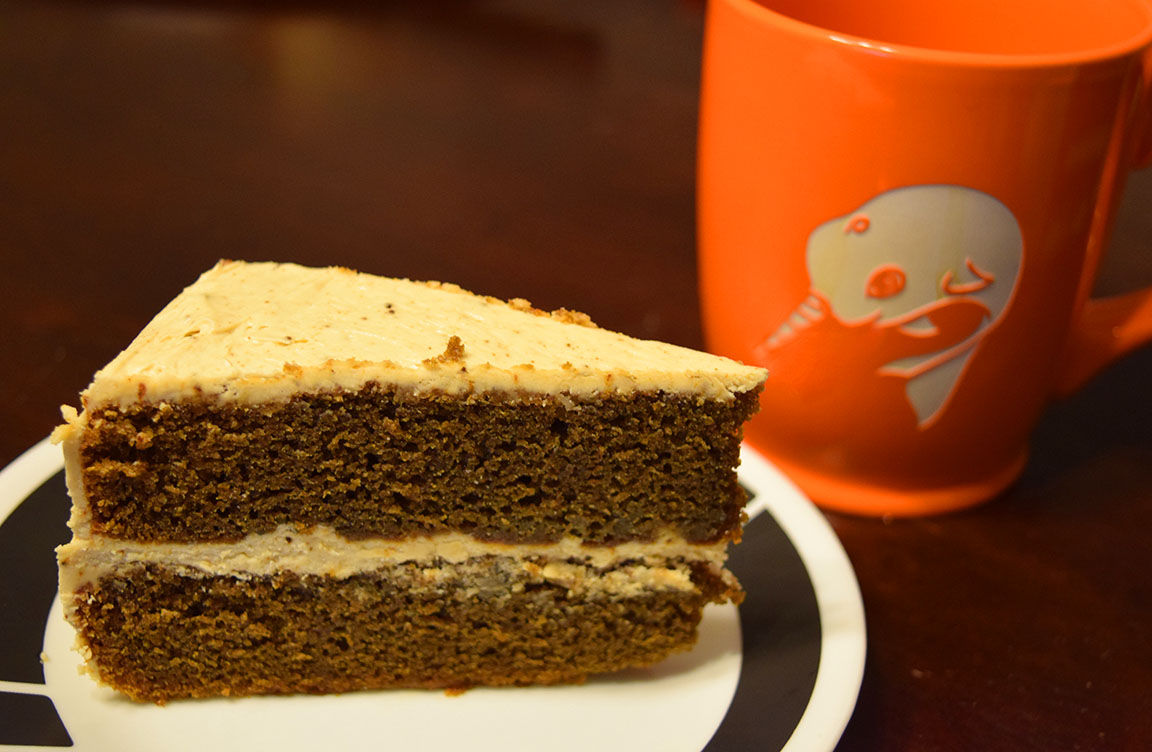 Coffee Layer Cake with Coffee Buttercream Frosting