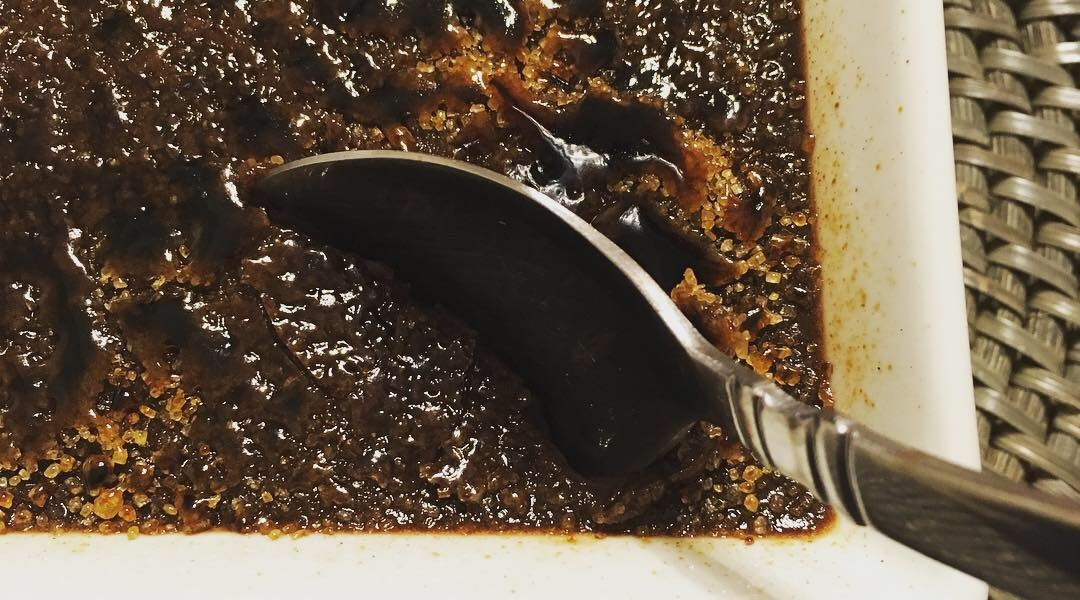 Cracking into Dark Chocolate crème brûlée