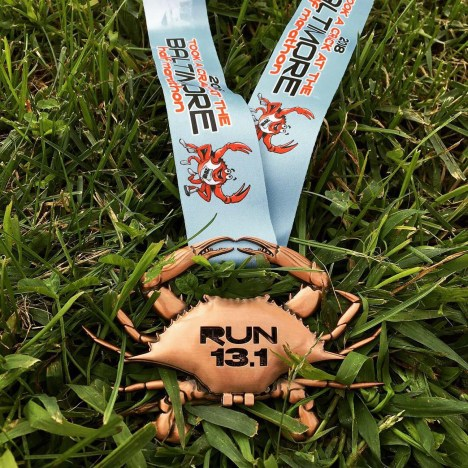 Baltimore Running Festival Half Marathon Elevation Medal 2018 - closed