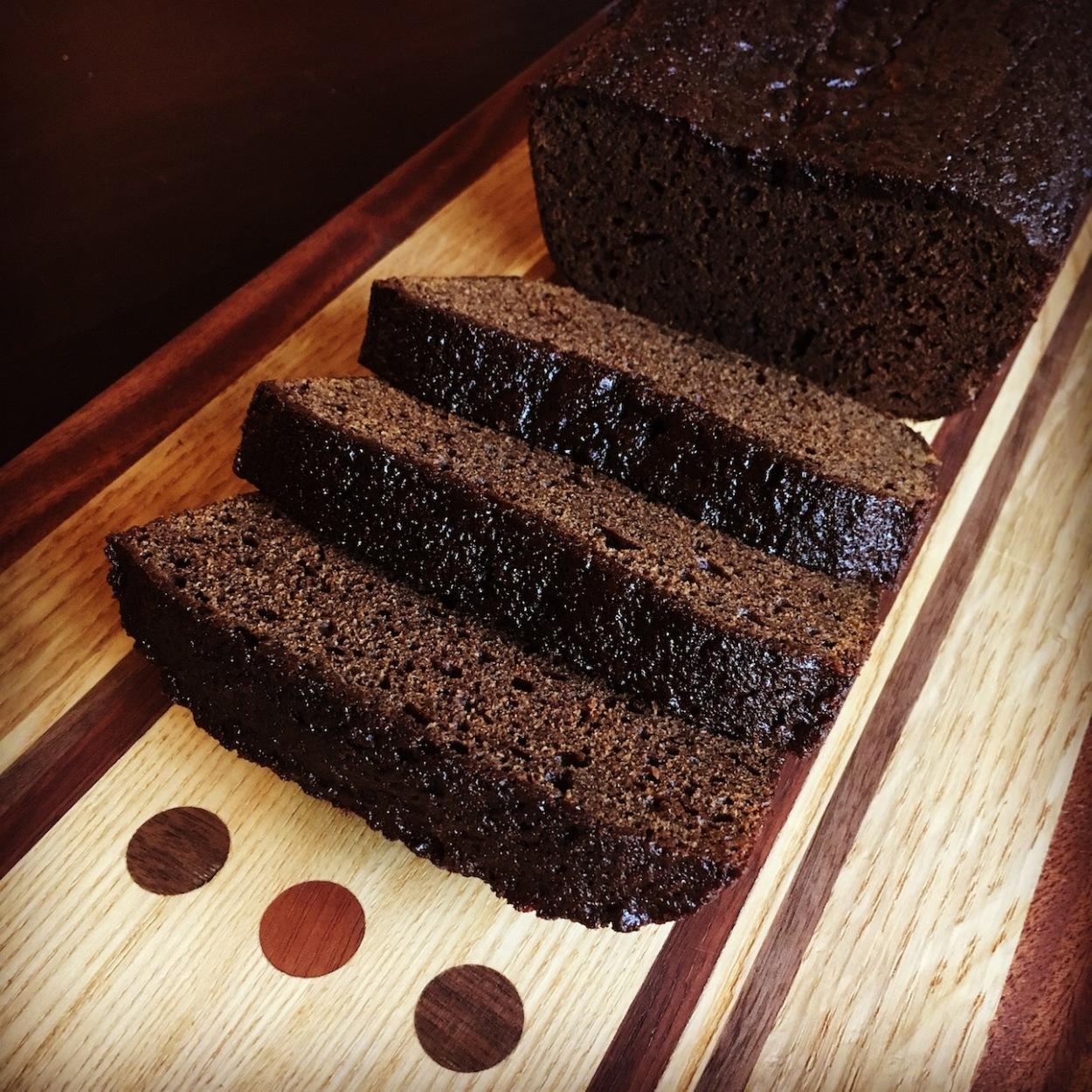 Blackstrap Molasses Gingerbread Loaf