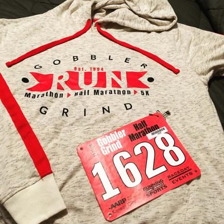 Gobbler Grind Half Marathon Hoodie 2018