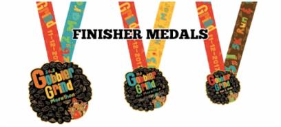 Gobbler Grind 2017 Medals