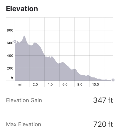 San Diego Holiday Half Marathon Elevation