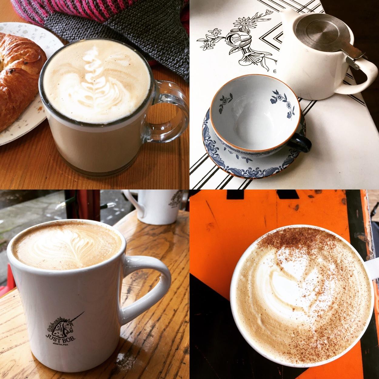 Coffee in Portland - Digital Nomad Series