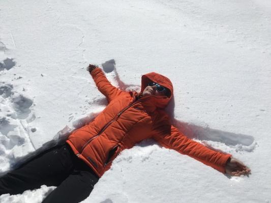 Snow shoeing on Mt Hood - digital nomad series