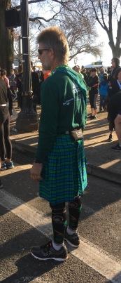 Shamrock Run Half Marathon Runner