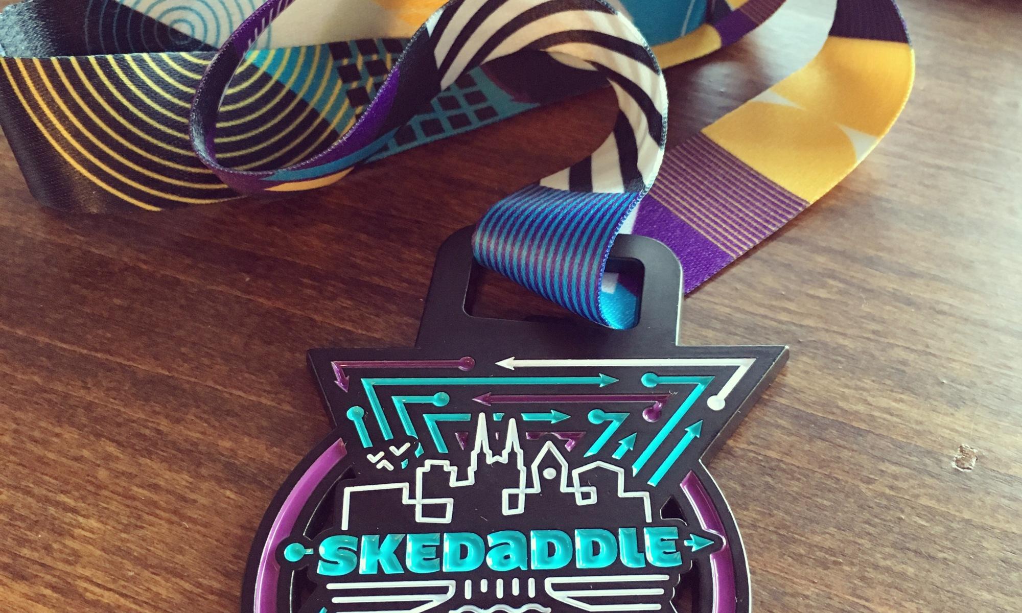 Sioux Falls Skedaddle Medal - Half Marathon 2019