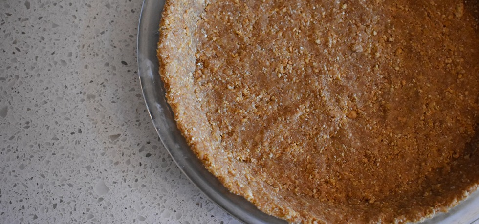 buttery graham cracker pie crust
